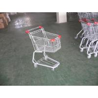Wholesale Plastic Supermarket Folding Shopping Carts With Swivel Casters from china suppliers
