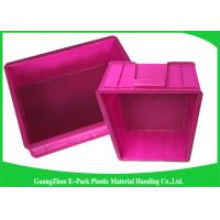 Mini Load Euro Containers With Lids , Standard Plastic Stacking Boxes PP Materials