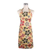 Wholesale Fashionable and Recycle Flower Printed Retro Ladies Cook Aprons / Cotton Bib Aprons from china suppliers