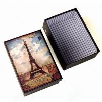Wholesale Perfect  Handmade Jewelry Paper Boxes European Building Style from china suppliers