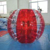 Quality 14kg PVC Inflatable Sports Games Body Zorb Ball Inflatable Interactive Games for sale