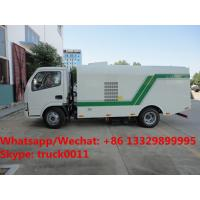 Wholesale Factory sale best price Dongfeng 4*2 RHD Vacuum sweeping truck, HOT SALE! China-made dry type road cleaning truck from china suppliers