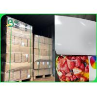 Wholesale Inkjet Printers Sticky - Backed 180 / 200gsm Glossy Photo Paper In Ream from china suppliers
