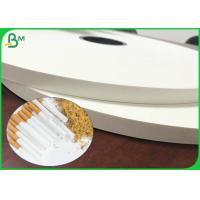 Wholesale 26gsm 28gsm Food Grade Safe White Cigarette Paper Roll With 28mm 32mm 35mm from china suppliers