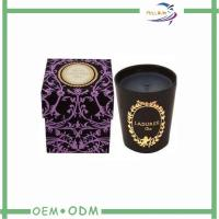 Wholesale Hot Stamping Good Looking Candle Packaging Boxes Gold Foil Printing from china suppliers