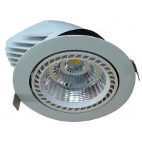Wholesale Aluminum 100lm / W Led Ceiling Downlights , Led Truck Light 40w 50w 15/24/38/60 Beam Angle from china suppliers