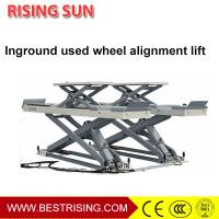 Wholesale Full rise double scissor CE Certification alignment lift for workshop CE from china suppliers