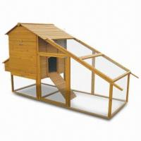 Wholesale Chicken Coop with Wooden Roof and Big Front Door, Measures 305 x 114.3 x 162.7cm  from china suppliers