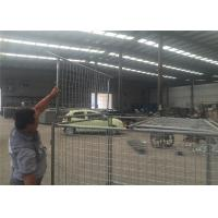 Wholesale Temporary Hot Dipped Galvanised Weld Wire Mesh Storage Cages With 4 Panels from china suppliers