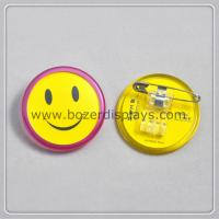 Buy cheap Smile ID Badge Holder With Clip from wholesalers