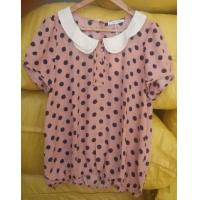 Wholesale Lady girl chiffon shirts with high quality and soft nice finish from china suppliers