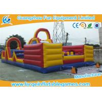 Wholesale Giant Kids Interactive Inflatable Fun City / Air Blowing Inflatable Amusement Park from china suppliers