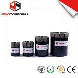 Wholesale Medium To Hard Formation Impregnated Diamond Core Drill Bit bq nq hq pq from china suppliers