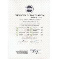 Ningbo Huafeng Package Co., Ltd. Certifications