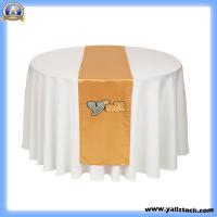 Wholesale Gold Satin Table Runner-J02906 from china suppliers