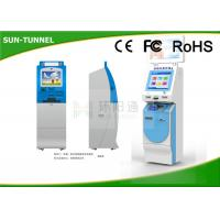 Wholesale Cash Payment Financial Services Kiosk With Credit Card & Barcode Reader from china suppliers