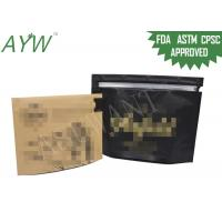 Wholesale Smell Proof Promotion Child Proof Zipper Bags Compliant With Government Regulations from china suppliers