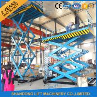 Quality 2T 4M Hydraulic stairs lift scissor lift platform cheap lift table , material handling lifts for sale