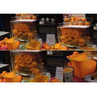 Wholesale Auto Feed Orange Lemon Squeezer Portable With 22 - 25 Oranges Per Mins from china suppliers