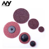 Quality Quick Change 3m 2 Inch Roloc Sanding Discs Non Woven Grinding 50mm Red Color for sale