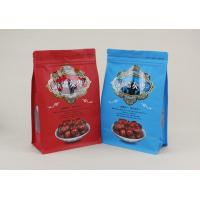Wholesale Square Bottom 500g Food Grade Quad Seal Bags For Red Dates Walnuts from china suppliers
