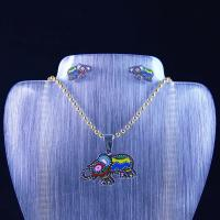 Wholesale High Quality Stainless Steel Jewelry Set LUS105-1 from china suppliers