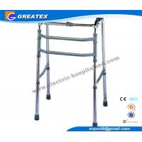 Wholesale Single Release Folding Rollator Walker With Double Bars FDA CE ISO Approved from china suppliers