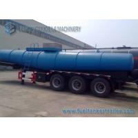Wholesale Concentrated  Sulfuric Acid Tank Trailer 18000 L V Shape Chemical Tanker Trailer from china suppliers