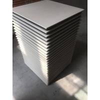 Wholesale Cream colored polycrystalline Anti Static Floor Tiles High Strength from china suppliers