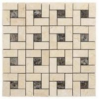 Wholesale Limestone Granite Stone Mosaic Tile, Washable Kitchen Mosaic Floor Tiles from china suppliers