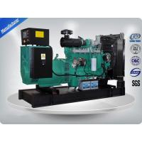 Quality Water Cooled Cummins Diesel Generator Set Low Noise 100Kva / 80 Kw Iso9001 Certificate for sale