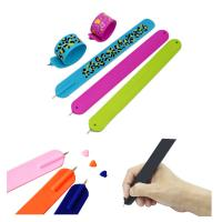 Wholesale Ballpoint Pen Silicone Slap Stylus Bracelet from china suppliers