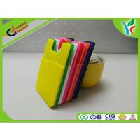 Wholesale Portable Card Holder Cell Phone Silicone Cases Back Gift FDA Silicone from china suppliers