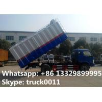 Wholesale 18cubic meters bulk grains farm delivery truck for sale, best price bulk grains self-sucking discharging van truck from china suppliers