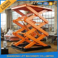 Wholesale Electro Hydraulic Scissor Lift Tablewith Explosion Proof Safety Device 2500kgs Loading capacity from china suppliers