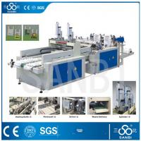 Wholesale 9Kw Auto Polythene Bag Making Machine / Equipment With Two Sealing knifes from china suppliers