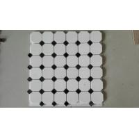 Wholesale Natural Stone White Marble Mosaic, Mosaic Veneer,White Marble Mosaic,Marble Mosaic from china suppliers