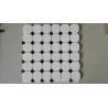 Buy cheap Natural Stone White Marble Mosaic, Mosaic Veneer,White Marble Mosaic,Marble Mosaic from wholesalers