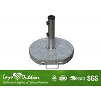 Wholesale Sunshine Proof Offset Patio Umbrella Base , Outside Umbrella Stand Easy Installation from china suppliers