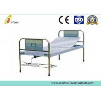 Durable Stainless Steel Hand Control Medical Hospital Beds Single Crank Bed (ALS-M114)