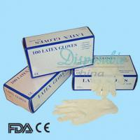 Wholesale Disposable Non sterile powder-free latex exam gloves from china suppliers
