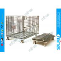 Wholesale Customized Retail Wire Dump Bins Heavy Duty Steel Mesh with Powder Coated from china suppliers