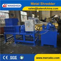 Wholesale Waste Scrap Metal Shredder for Aluminum cans drums from china suppliers