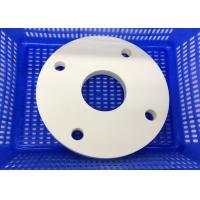 Wholesale Insulating Round Circular Ceramic Plate / Ceramic Disc  with Thread Hole from china suppliers