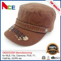 Wholesale Custom Embroidered Military Caps , Military Boonie Cap Autumn Winter Fitted from china suppliers