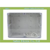 Wholesale 263*182*125mm IP65 ABS Boxes, Watertight ABS Boxes, Waterproof Clear ABS from china suppliers