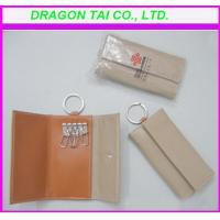 Wholesale leather key wallet, leather key bag from china suppliers