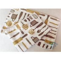 Wholesale Kitchen Reusable Printed Microfiber Cloth Machine Washable , Microfiber Dust Cloth from china suppliers