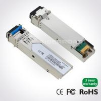 Wholesale BIDI LC SFP Fiber Optic Transceiver Module 1310nm / 1550nm 20KM 155M from china suppliers