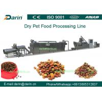 Wholesale High Efficiency Automatic Pellet Pet Food Extruder Machine With CE And ISO9001 from china suppliers